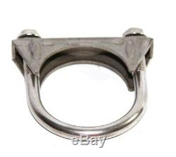 1 Piece 2ID Exhaust Tail Pipe Stainless Steel T201 U Bolt Clamp Heavy Duty