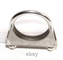 10 Pieces 2.25 I. D. Universal heavy duty Exhaust Hanger 2 1/2 SS U Bolt Clamp