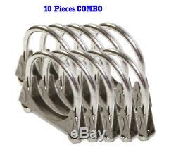 10 Pieces 2.5 I. D. Universal heavy duty Exhaust Hanger 2 1/2 SS U Bolt Clamp
