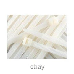 100 200 300 500 36 Cable Zip Ties Heavy Duty Duct Straps Natural 175lb Load