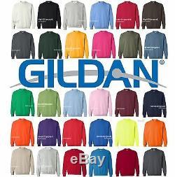 100 Gildan Heavy Blend Crewneck Sweatshirt 18000 S-5XL Wholesale Lot of 100