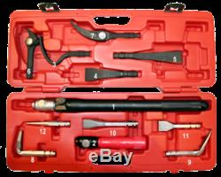 12 Piece Interchangeable Heavy Duty Pry Bar Set