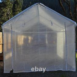 14 mil Heavy Duty Greenhouse Canopy Panels CLEAR Fiber Reinforced- Choose Size