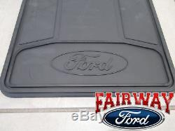 15 thru 20 F-150 OEM Genuine Ford Parts Heavy Duty Splash Guards 4-piece Set