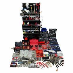 1730 Piece Mechanics Tool Kit Hilka with Heavy Duty 15-Drawer Tool Chest
