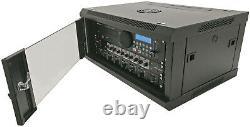 19 Heavy Duty Wall Mountable Rack Cabinet Data Network CCTV Secure patch Lock