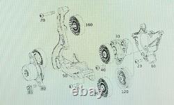 2015-2021 Mercedes AMG M177 C63/ GLC63 heavy duty 5 Piece billet Idler Kit