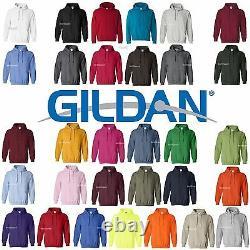 26 Gildan Heavy Blend Hooded Hoodie Sweatshirt 18500 S-XL WHOLESALE Lot of 26