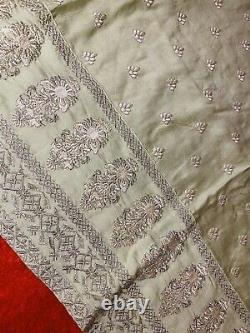 3 Piece NEW indian Pakistani Wedding Eid Shalwar Kameez Embroidered Heavy Pearls