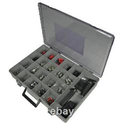 65 Piece Heavy Duty Battery Terminal Kit with Tools for Boats, RVs, Automotive