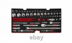 BOXO USA Heavy Duty 97 Piece MotoBox Tool Box