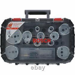 Bosch 13 Piece Endurance for Heavy Duty Carbide Holesaw Set