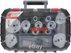 Bosch 2608594186 14 Piece Carbide Endurance for Heavy Duty Hole Saw Set