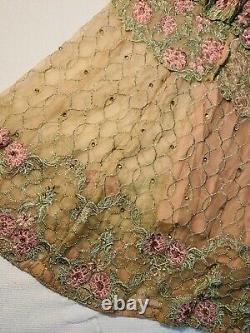 Brand New Pink Lehnga Dress, 3 Piece Sharara Frock Flare Heavy Work Wedding