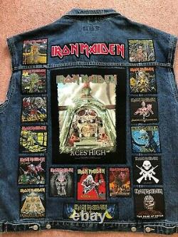 Custom Battle Jacket with Your Personal Patch Collection Heavy Metal Doom Death
