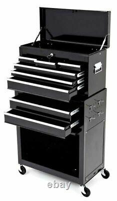Cycle Mtb Bike Mechanic Heavy Duty Two Piece Professional Tool Cabinet / Chest