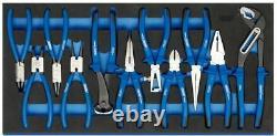 DRAPER Heavy Duty Plier Set in Full Drawer EVA Insert Tray (11 Piece) 63268