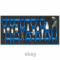 Draper 63268 Heavy Duty Plier Set in Full Drawer EVA Insert Tray 11 Piece