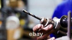 Drill America 115 Piece Heavy Duty High Speed Steel Drill Bit Set with Black
