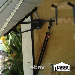 E900 Universal One Piece Garage Door Hardware Kit Durable Heavy Wood Doors
