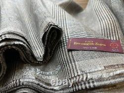 Ermenegildo Zegna 2.2m 100% Linen Heavyweight Fabric 320 Gr/Mi
