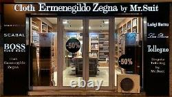 Ermenegildo Zegna Mohair Fabric Houndstooth pepito pattern 2.3m 385 $