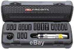 FACOM 21 PIECE 1/2 Dr. HEAVY DUTY IMPACT SCREWDRIVER & BIT SET NS. 265M