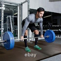 FlooringInc 3/4 Interlocking Heavy Duty High Impact Weight Room Gym Flooring