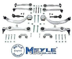 For Meyle Heavy Duty 12-Piece Front Control Arm Kit Audi 8D0-498-998 B