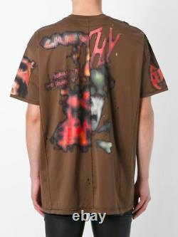 GIVENCHY T-shirt Pieced and Distressed'Heavy Metal', M