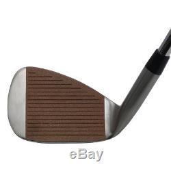 Ginty Golf Clubs Altima Complete 8-Piece Men's HEAVY Iron Set (3-PW) Stiff Flex