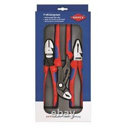 Heavy Duty Power Pack 3 Piece Knipex 002011S Made in Germany