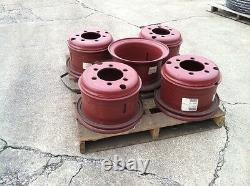 Heavy Duty Wheel for 11.00 x15 Tire 6 hole Budd Dual Style 3 Piece New