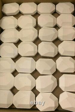 Heavy Duty long life Garlands Ceramic Briquettes, New, 126 pieces per box