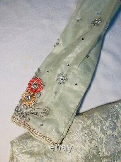 Indian Pakistani 3 Piece Boutique Made Bridal Small Shalwar Kameez Very Heavy