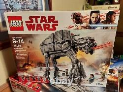LEGO STAR WARS First Order Heavy Assualt Walker 1376 Pieces SEALED NEW POSTPAID