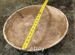 McCarty Pottery HUGE 16 Round Platter Artist Signed Beautiful Heavy Piece NEW