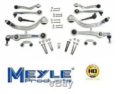 Meyle Heavy Duty Front Suspension 12-Piece Control Arm Kit For A4 & Quattro S4