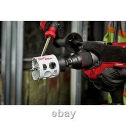 Milwaukee Hole Saw Blade Set Bi-Metal Multipurpose Heavy Duty (21-Pieces)