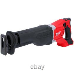 Milwaukee M18BSX M18 18V Heavy Duty Reciprocating Saw With 16 Piece Saw Blade