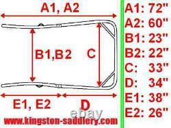 New Easy Entry Heavy Duty 7 Piece Straight Shafts 60-72Unit-NIB