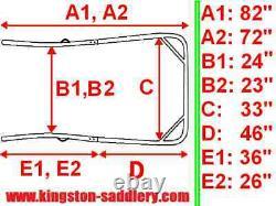 New Easy Entry Heavy Duty 7 Piece Straight Shafts 72/ 82Unit-NIB