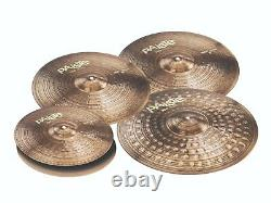 Paiste 900 Series 5 Piece Heavy Extended Cymbal Set/Travel Pack! /Model-190HXTO