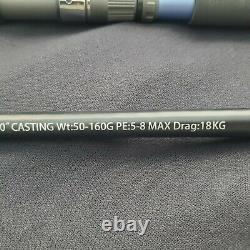 Palmarius Black Devil Series II 8'0 H Popping Rod (2 piece Butt Jointed)