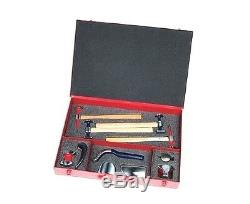 PowerTec Hammer & Dolly 11 Piece Tool Kit Supplied In Heavy Duty Metal Case