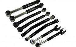 Raptor Series HD Adjustable Control Arm Kit for 0-6 Lift 07-18 Jeep Wrangler JK