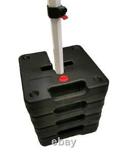 SET OF 2, 4 or 8 BULHAWK HEAVY DUTY WATER WEIGHTS POP UP GAZEBO LEG SUPPORTS
