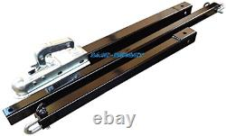 SMC DIRECT Heavy Duty 3.5 Ton Car Recovery Tow Pole 3 Piece Towing Bar Pulls 4x4