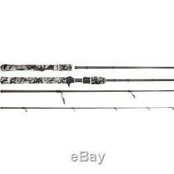 Samaki Zing Travel Spin Rod 7' SZG-703SH 3 Piece Graphite Rod 12-20 Lb + Case