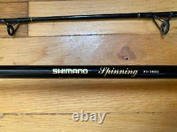 Shimano Spinning FX-2803 8 10-17Lb Spinning Two Pieces Fishing Rod